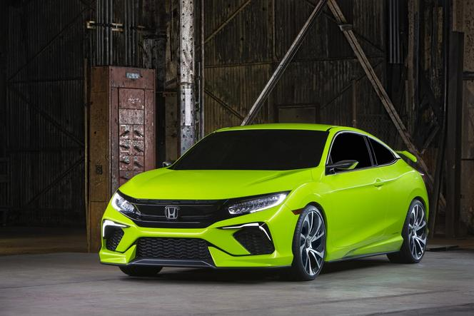 Salon de new york honda civic concept la 10e g n ration - 2016 honda civic si coupe interior ...