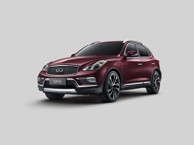 Salon de New York : l'Infiniti QX50 mis à jour