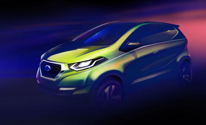 Voici la première photo du concept Datsun