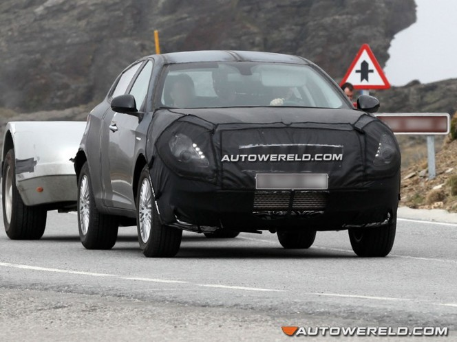 Surprise : le futur crossover Alfa Romeo enfin dehors