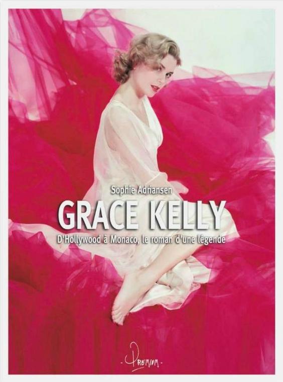 Livre - Grace Kelly, de Sophie Adriansen