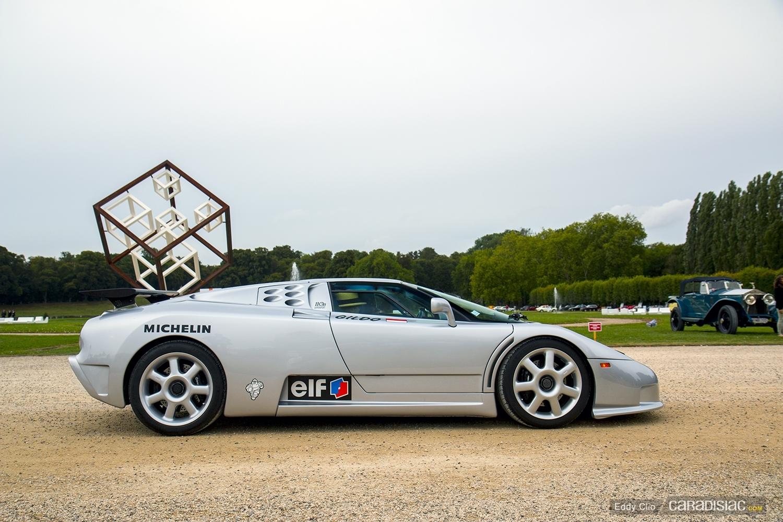 Photos Du Jour Bugatti Eb110 Concours D Elegance De