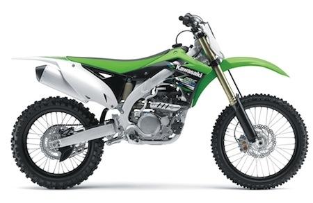 Kawasaki KX-F 2013: les 250 et 450 se dévoilent...