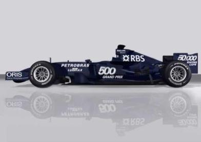 Formule 1: Williams va jouer le caméléon d'hiver