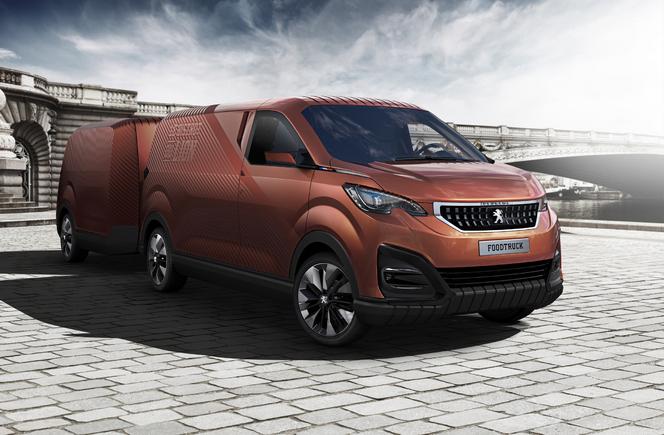 Peugeot Foodtruck concept : le bistrot du lion