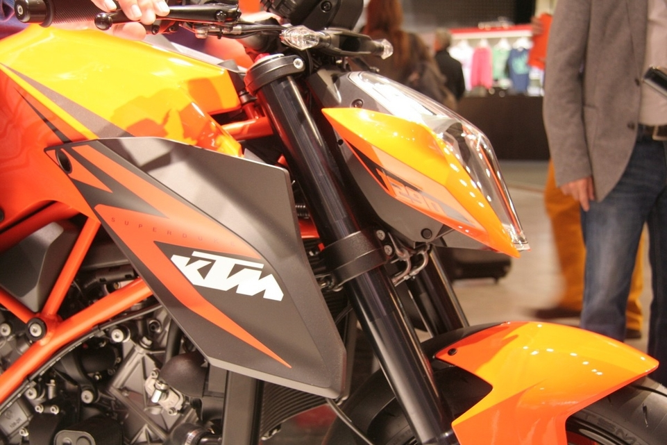 Salon de Milan en direct : KTM 1290 Super Duke R