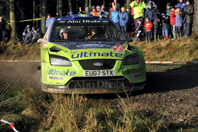 WRC-Grönholm : A peine parti déjà revenu?
