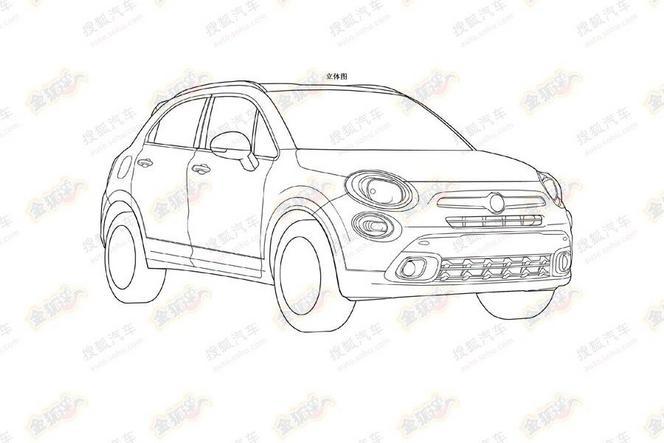 Future Fiat 500X : c'est elle