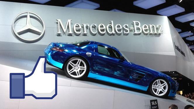 La marque la plus efficace sur Facebook pendant le Mondial a été... Mercedes