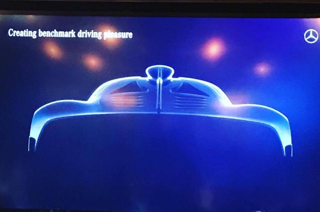 L'hypercar Mercedes-AMG révélée par une première image