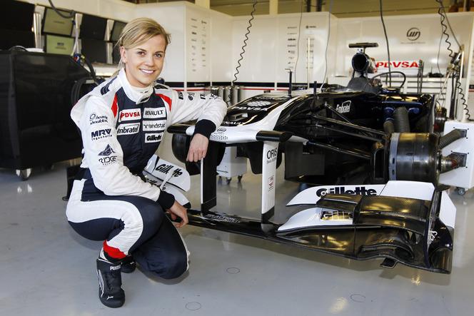 F1 : Susie Wolff teste la Williams FW33