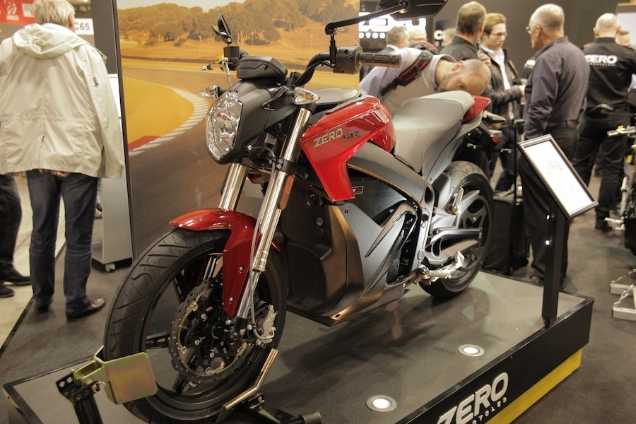 Salon de Milan En Direct : Zero Motorcycles SR/Power Tank