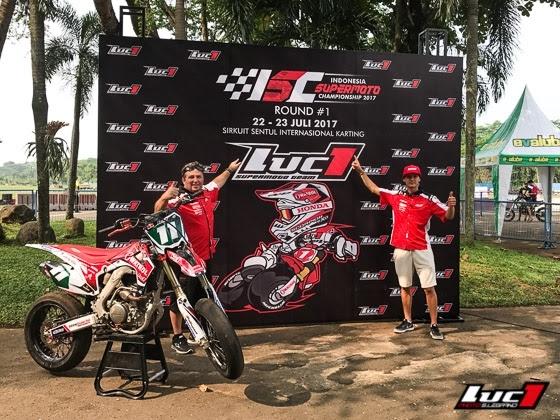 Le team Luc1 en Indonésie