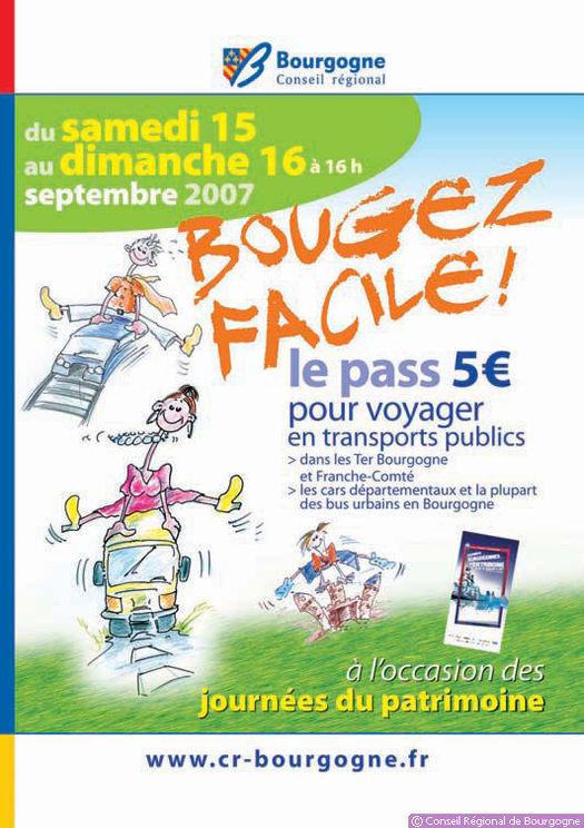Semaine de la mobilité : en Bourgogne, un pass pour les transports publics les 15 et 16 septembre
