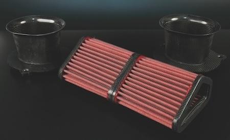 BMC des filtres à air avec structure carbone: C.R.F.
