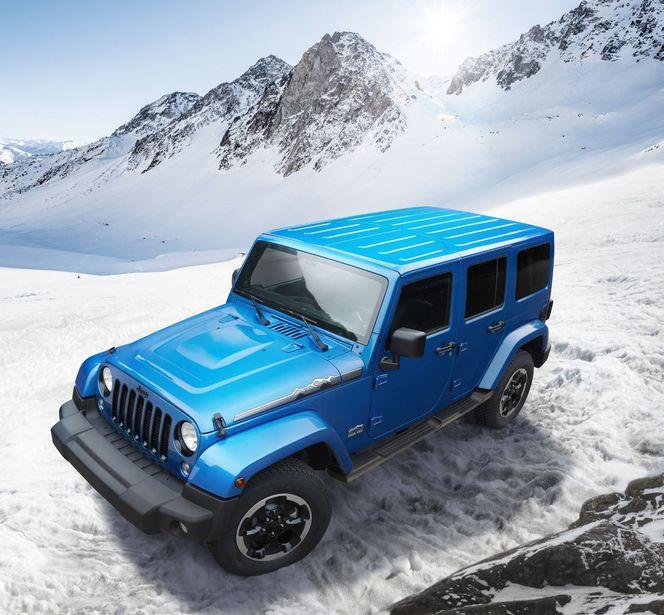 Jeep Wrangler Polar: à partir de 39550 €
