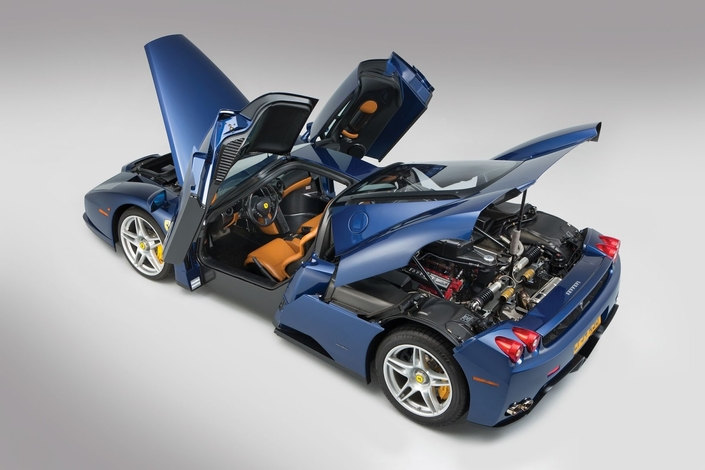 Cette Ferrari Enzo va battre des records