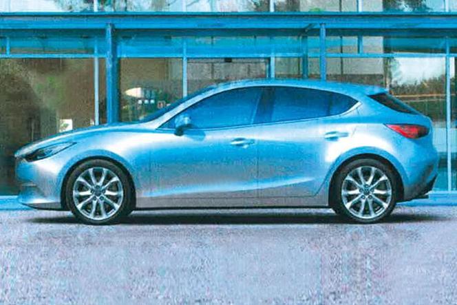 Est-ce là la future Mazda3 ?