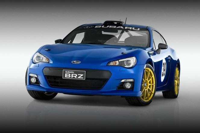 Subaru BRZ Concept STi et Motorsports Project