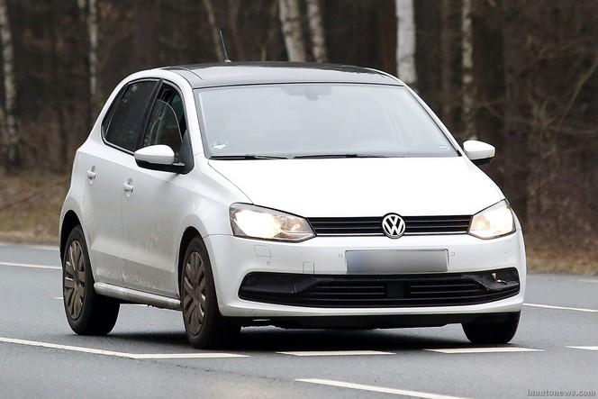 Surprise : la VW Polo restylée se montre nue