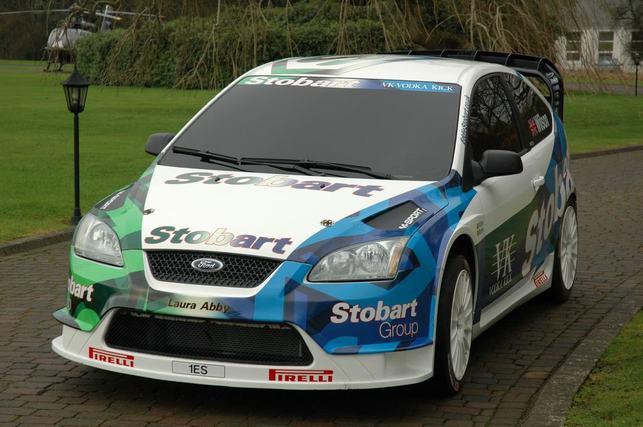 WRC : Stobart présente la nouvelle livrée de ses Focus WRC