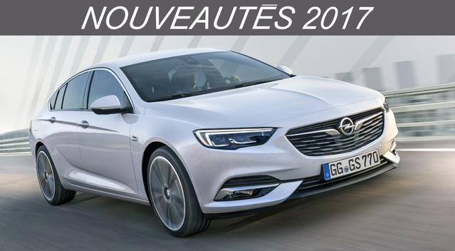 Nouveautés 2017 – Grandes berlines : l'Opel Insignia devient Grand Sport