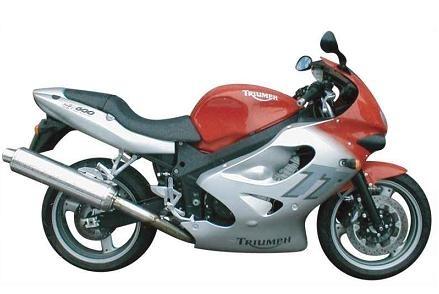 10 ans déja : Triumph présentait sa 600 TT