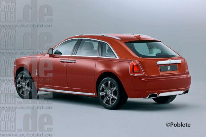 Futur SUV Rolls Royce : comme ça ?