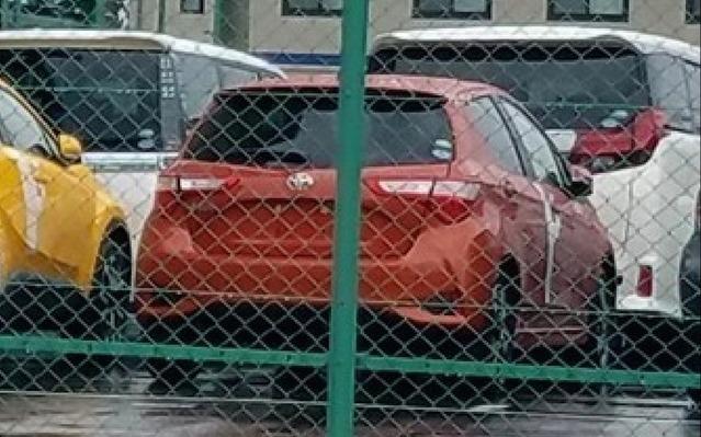 Surprise : la nouvelle Toyota Yaris en fuite