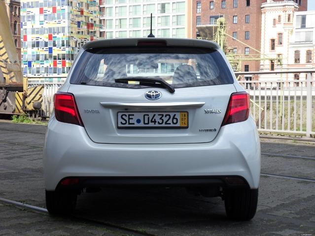 Toyota Yaris actuelle.