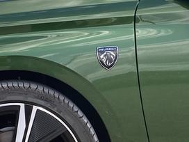 La reprise du logo sur les ailes est une spécificité des finitions hautes.