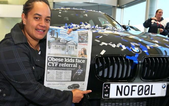 En Nouvelle-Zélande, le poisson d'avril de BMW était bien réel
