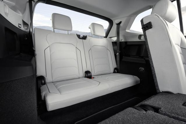Volkswagen évoque une configuration 5+2 places. Sûrement pour éviter de se voir reprocher une troisième rangée de sièges trop étriquée.