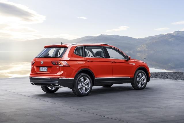 Salon de Detroit 2017 - Volkswagen Tiguan Allspace: 7 places en série