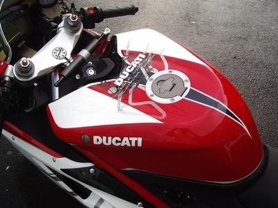 Ducati 1098 «Valencia» by Aéro Déco