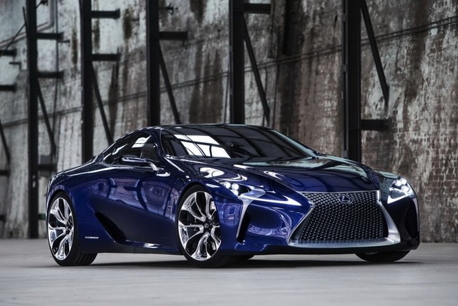 Lexus LF-LC: une commercialisation envisagée