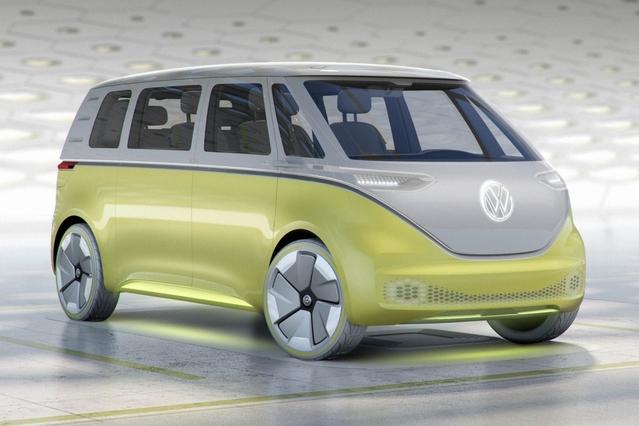 Salon de Detroit 2017 : Volkswagen ID Buzz, le Combi électrique et autonome