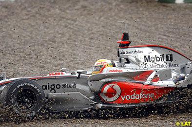 Formule 1 - Test Jerez D.3: Glock s'est mouillé
