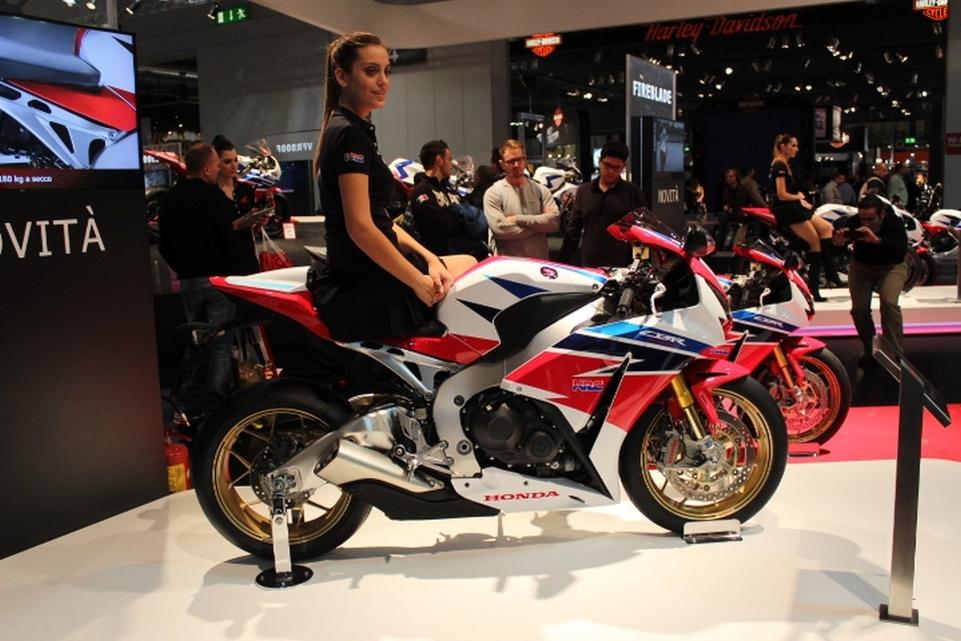 Salon de Milan en direct : Honda CBR 1000RR en SP qui veut dire EVO