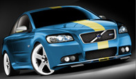 Volvo C30: triptyque au Sema show