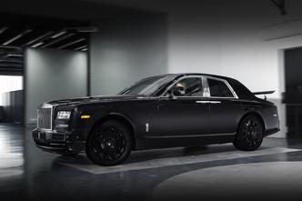 Rolls Royce Project Cullinan : le mulet est de sortie