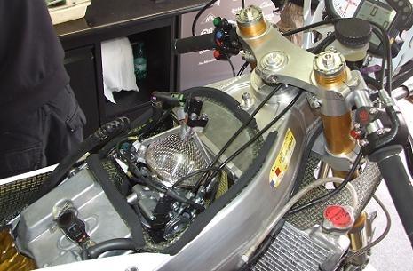 La 250 Honda FTR de Louis Rossi, victorieuse du GP de France