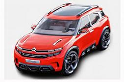 Surprise : une autre vue du concept Citroën Aircross