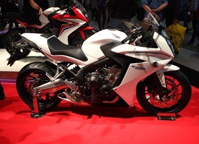 Salon de Milan en direct : Honda CB650 F et CBR650 F