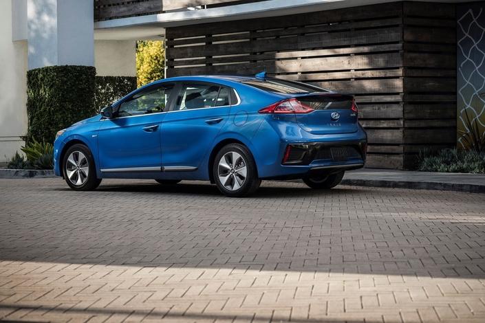 Une batterie plus puissante à venir pour la Hyundai Ioniq