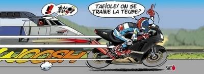 Moto/Train : La voie de la sagesse...