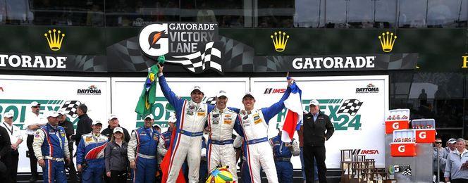 Sébastien Bourdais vainqueur des 24 Heures de Daytona