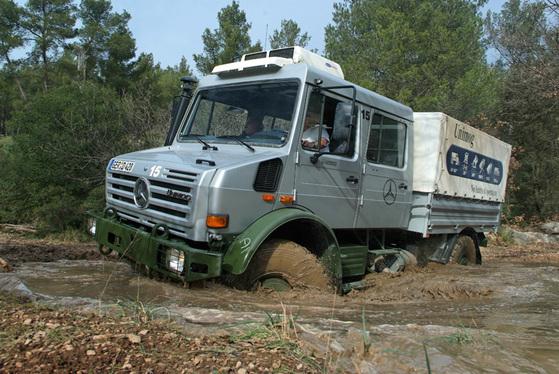 Gamme Mercedes Unimog: pour tous les usages
