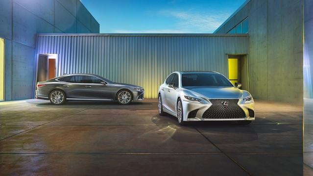 Salon de Detroit 2017 : la Lexus LS fait peau neuve