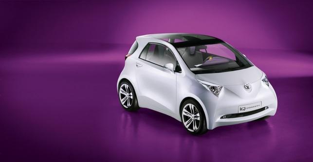 Salon de Francfort : Toyota et son concept-car de mini-voiture baptisé iQ